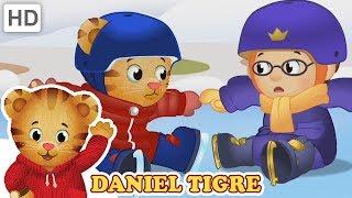 Daniel Tigre em Português ⛸️ Esportes Olímpicos na Neve 🏂 | Vídeos para Crianças