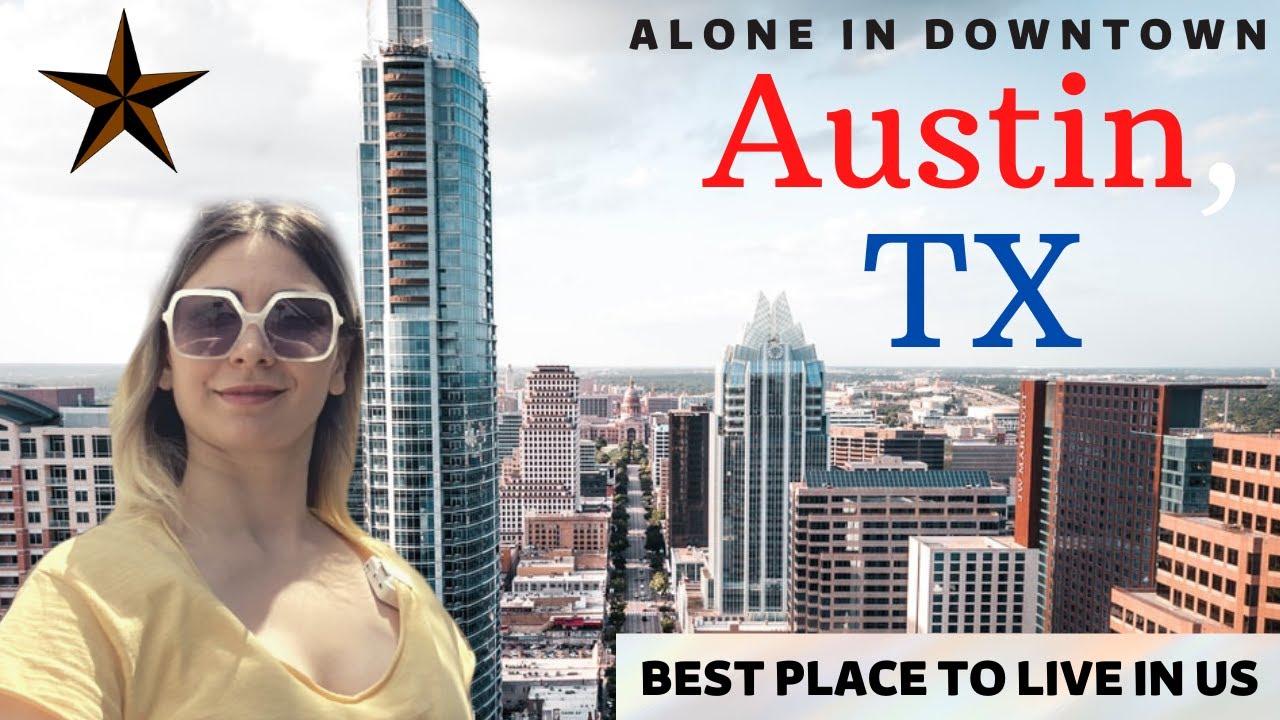 Download AMERİKA'DA TEK BAŞIMA ŞEHİR MERKEZİNE GİTTİM | Downtown Austin, Texas Vlog 🏙️🌃