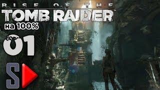 Rise of the Tomb Raider на 100% (Экстремальное выживание) - [01] - Сюжет. Часть 1