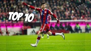 Robert Lewandowski TOP 10 Bramek w Karierze (PL KOMENTARZ) ᴴᴰ