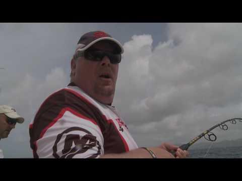 FISH TV fishing in Antigua- 2013