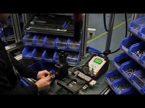 Enter Inside The HAWE Hydraulik Industry 4.0 Assembly Line – With Desoutter ©!