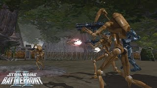 Star Wars Battlefront 2 Mod | Clone Wars: Kashyyyk