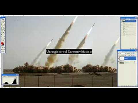 Test missili iraniani - La foto taroccata