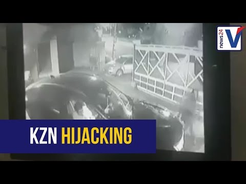 WATCH: Hijacking in Durban caught on CCTV