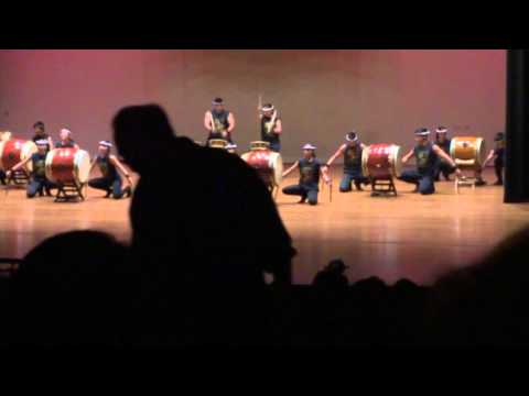 PBA Taiko 2016 Pacific Buddhist Academy-Piece: Shin
