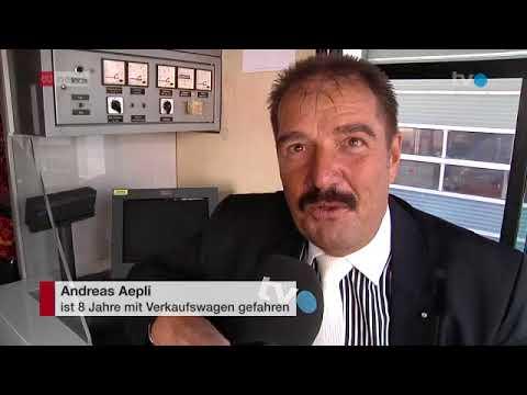 Mini Kühlschrank Migros : Migros bringt alte verkaufswagen in der ostschweiz zum einsatz