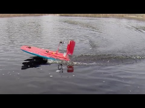 RC AirBoat - Homemade - Brushless - YouTube
