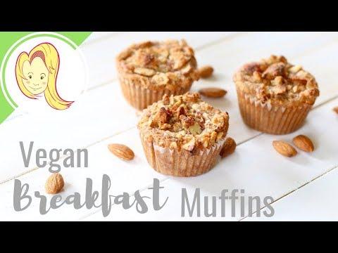 Vegan Breakfast Streusel Muffins