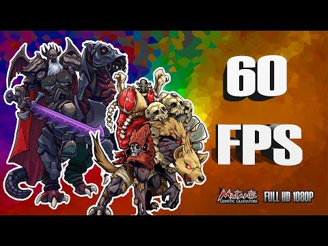 10 BATALLAS PVP En 60 FPS / Mutants Genetic Gladiators. FULL HD