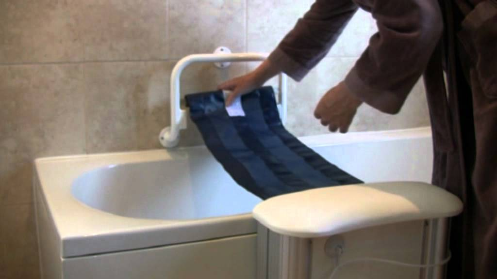 The Molly Bather Bath Lift - YouTube