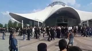 Povorka na sahrani Dalibora Andonova Grua