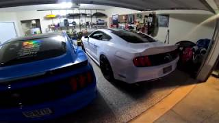Boosted S550 Mustang Burble Tune?!