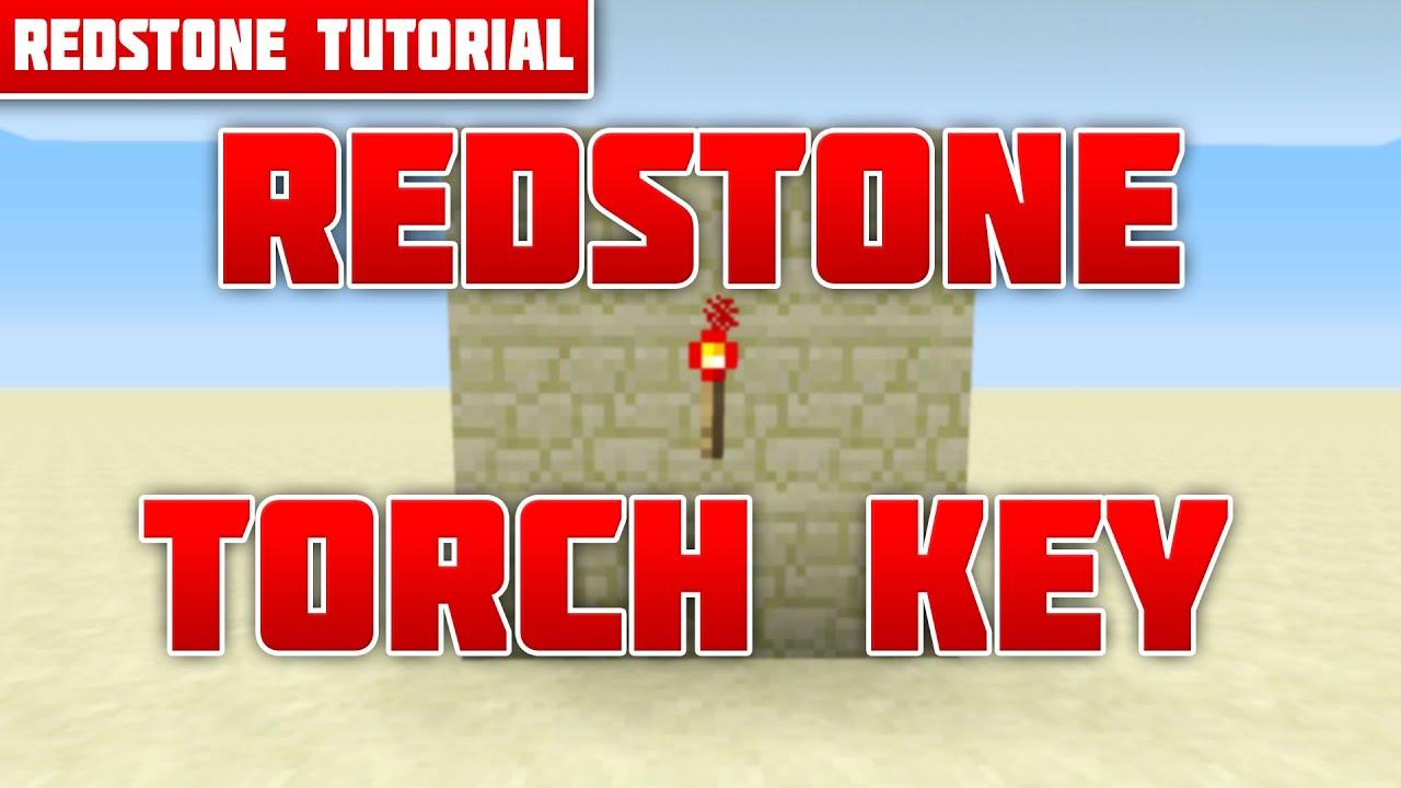 Redstone Torch Key Geheime Aktivierung Tutorial Minecraft Xbox - Minecraft geheime hauser