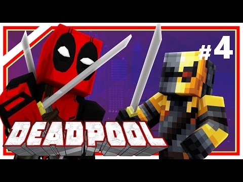 """Minecraft Deadpool #4: """"Tight Red Leather & DEATHSTROKE!"""" (Minecraft Roleplay) Ep 4 w/ Xylophoney"""