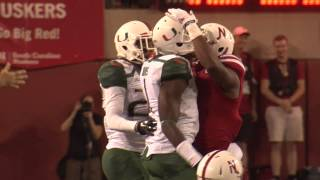 Video Highlights of Ameer Abdullah in the Husker-Miami game download MP3, 3GP, MP4, WEBM, AVI, FLV Agustus 2018