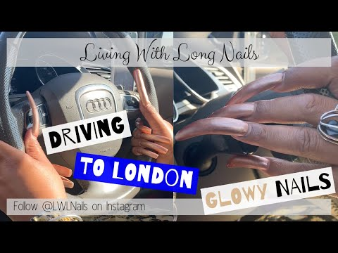 trip-to-london-driving-my-audi-a5-with-long-nails-ft-sally-hansen-glow-up- -living-with-long-nails