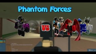 Roblox Phantom Forces 1v5 (The Time Lords TL)