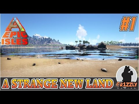 ARK:Survival Evolved EPIC ISLANDS MODDED - The Basics - EP1