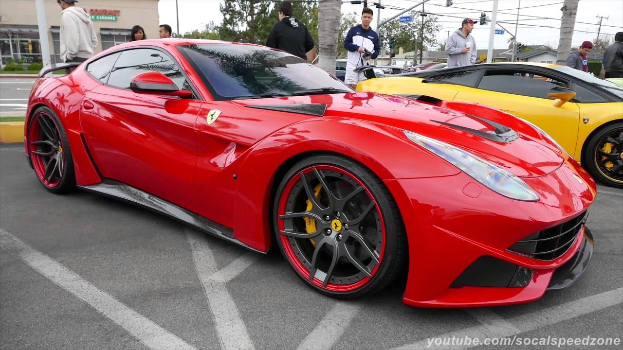Ferrari F12 N Largo by NOVITEC ROSSO - YouTube