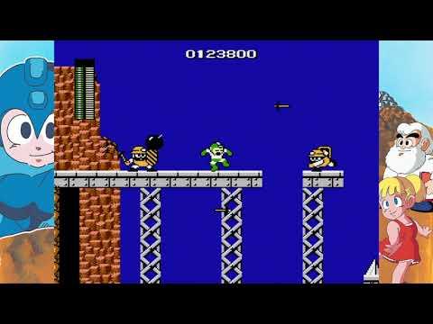 Mega Man Legacy Collection gut´s man |