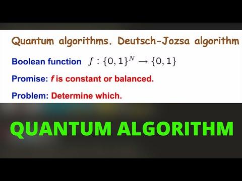 Quantum Algorithm - The Math of Intelligence #10