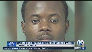 Soccer coach accused of asking teen for nude picture