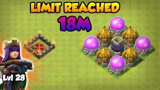 Clash Of Clans | SPENDING 18 MILLION LOOT | QUEEN LVL 28 | INSANE LOOT RAIDS
