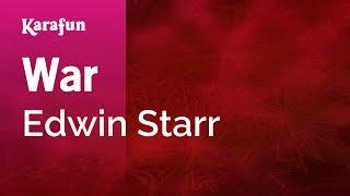 Karaoke War - Edwin Starr *