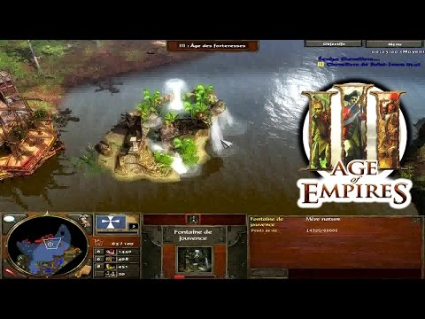 AGE OF EMPIRES III - Acte I Ep.8 - la Fontaine de Jouvence ? - Campagne/Playthrough FR HD