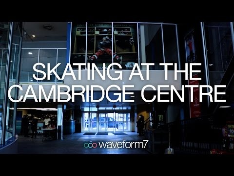 Skating at the Cambridge Centre - Cambridge Sports Hall of Fame