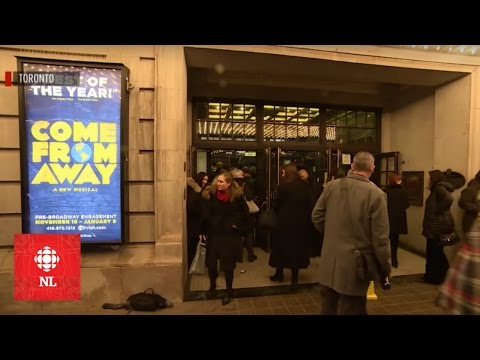 Come From Away premieres in Toronto
