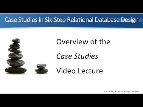 Case Studies in Six-Step Relational Database Design