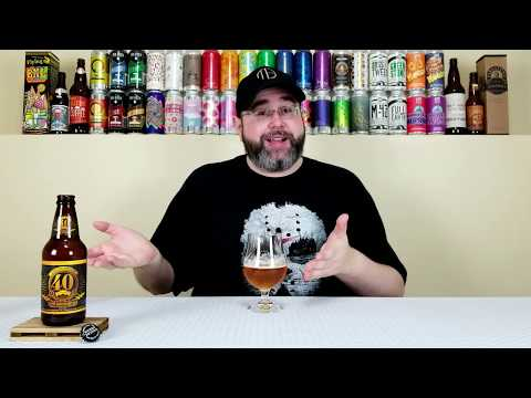 40th Hoppy Anniversary Ale | Sierra Nevada Brewing Co. | Beer Review | #760