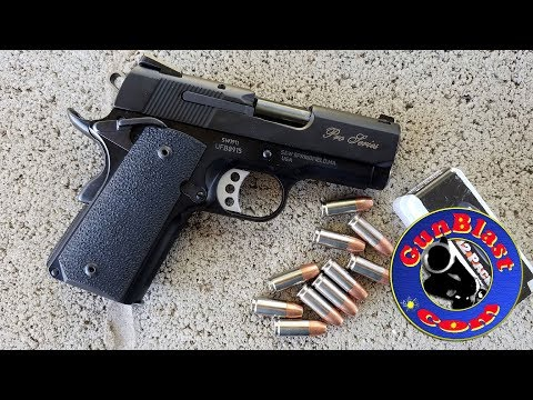 Smith & Wesson Performance Center® SW1911 Pro Series® Sub-Compact 9mm Pistol - Gunblast.com