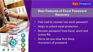sysinspire Excel Password Recovery Software