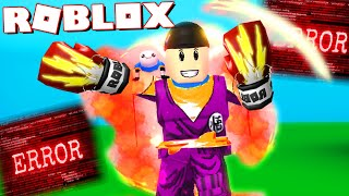 My Punch Is So Strong I BROKE The Game...   Roblox Strongest Punch Simulator