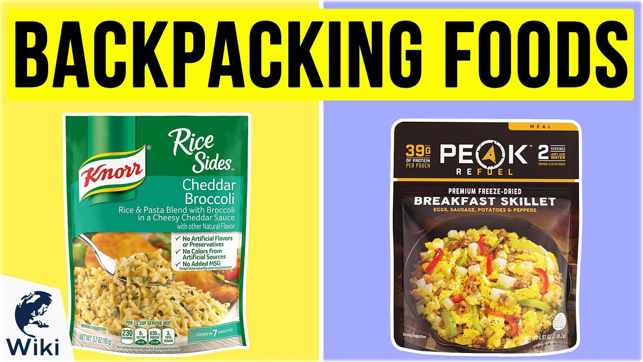 Top 10 Backpacking Foods Of 2020 Video Review