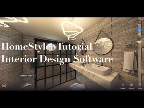 Home Styler Tutorial Living Dining Kitchen Interior Design Software Youtube