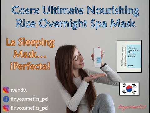 la-sleeping-mask-perfecta:-cosrx-ultimate-nourishing-rice-overnight-spa-mask-{tinycosmetics}