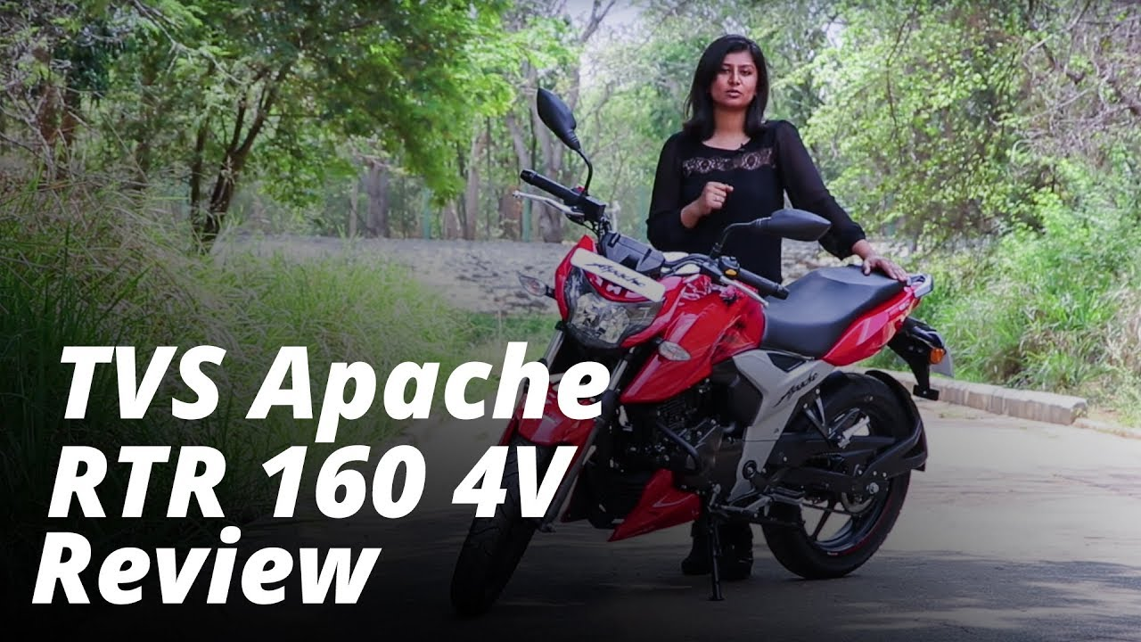 2018 TVS Apache RTR 160 4V review: New King Of 160cc Bikes In India?