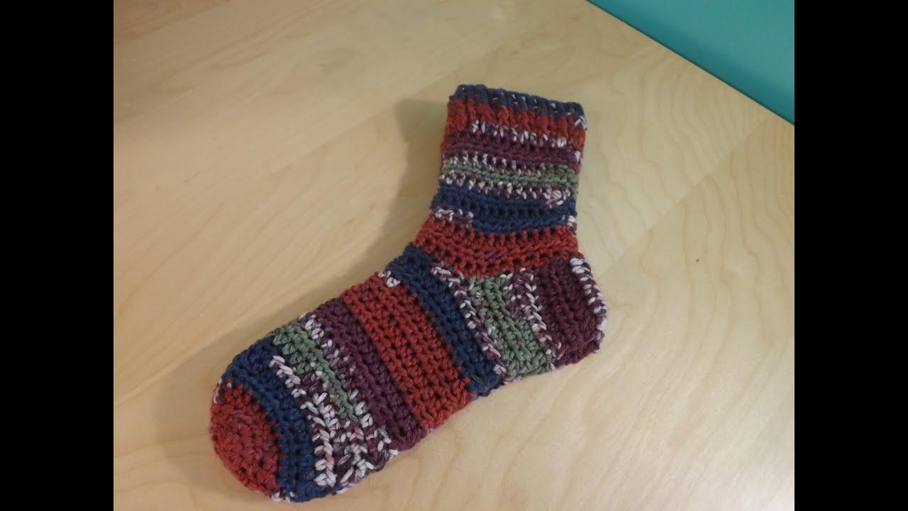 Crochet medias para principiantes - YouTube