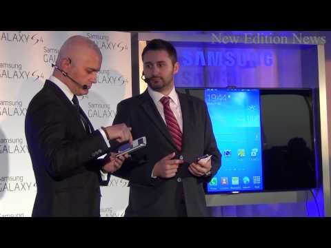 Lansare Samsung Galaxy S4 In Romania - 2