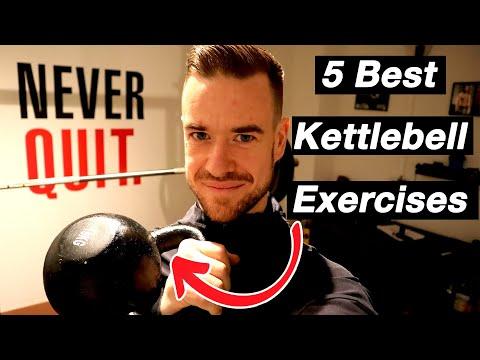 5 Best Kettlebell Exercises