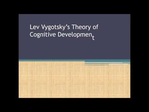 lev vygotsky theory of cognitive development