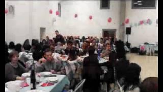 Cena di natale latin music moviment 10 12 2016 al circolo culturale cittanova