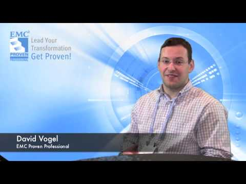 David Vogel - EMC Proven Professional