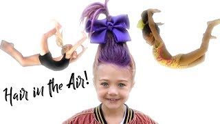 Aerials and Bestie Goal FLIPOUTS with Everleigh & Ava!