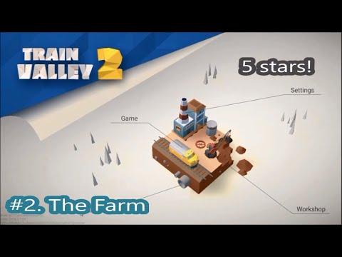 Train Valley 2. Level 2. The Farm.  