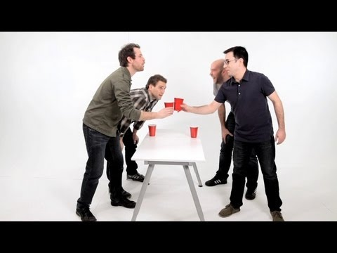 How to Play Flip Cup aka Flippy Cup | Drinking Games